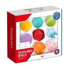 Набор детских текстурных мячей Huanger 8 шт