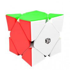 Скьюб (Skewb) X-man Magnetic Concave Цветной
