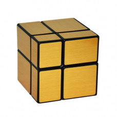 Зеркальный кубик Рубика 2x2 Золото