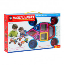 Магнитный конструктор Magical Magnet 46 эл.