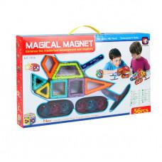 Магнитный конструктор Magical Magnet 56 эл.
