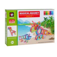 Магнитный конструктор Magical Magnet 55 эл.